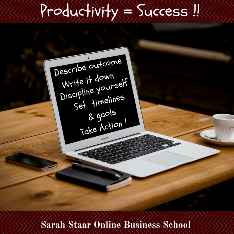 Productivity =Success !!